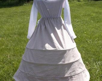 Custom Tudor Style Hoop Skirt