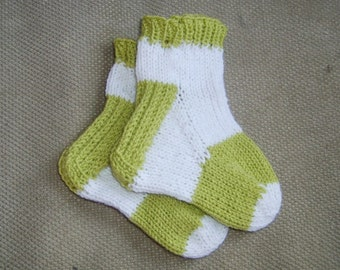 Toe up Socks with Six Different Heels - knitting pattern