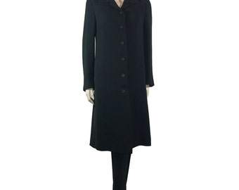 Vintage Issey Miyake Frock Coat Trouser Suit - 1989