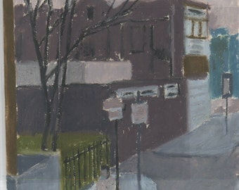 Street Scene, drawing