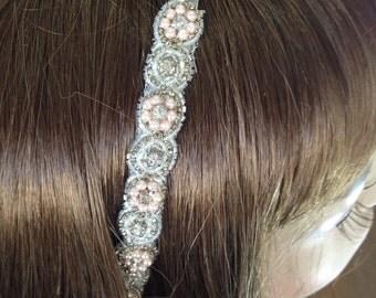 Bridal Headband , Wedding Headband