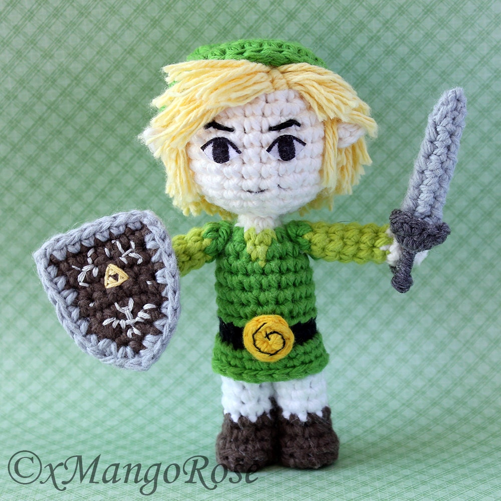 Link Crochet Pattern Zelda : Toon Link Amigurumi Doll from Legend of Zelda by xMangoRose