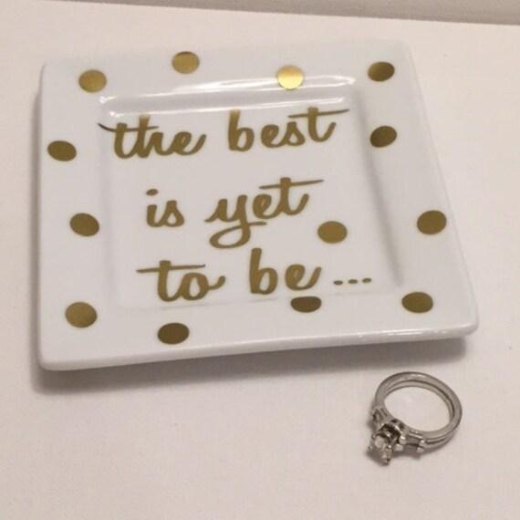 Wedding Ring Dish