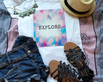 Explore quote t-shirt available in size s, med, large, and Xl for juniors girls and women