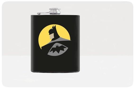 Batman Wedding Gift: Batmant Flask Groomsmen Gift Superhero Wedding By Fantasticum