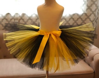 Yellow and Black Tutu - Bumblebee Tutu - Girls' Tutu - Halloween Tutu