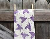 Houseflies Flour Sack Tea Towel