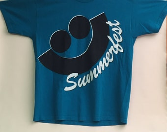 Vintage 80s/90s Summerfest Milwaukee T-shirt