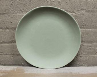 Organic Line Portuguese Dinnerware / Serveware in Herbal Garden Ceramic Dinner Plate