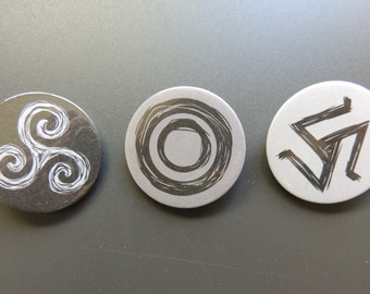 Teen Wolf PACK buttons