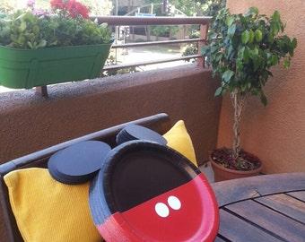 Mickey Mouse Plates, Mickey's Plates, Mickey Mouse Birthday, Mickey Mouse Party, Mickey Mouse Party Decoration, Party Favor Plates