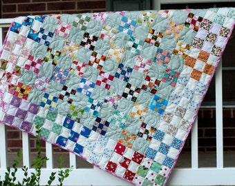 Six Over Three baby quilt pattern