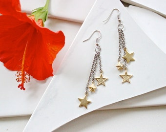 Kate Star Dangle Earrings
