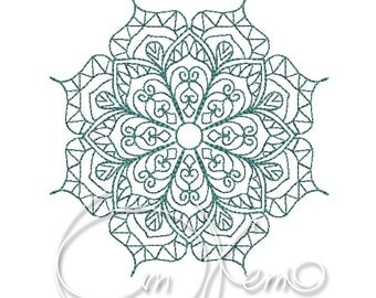MACHINE EMBROIDERY FILE - Mandala