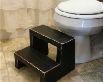 Childrens step stool - Potty Steps - Step Stool