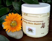 Baby Skin Balm ~ Herbal Balm to protect baby's bum.  All natural, made with calendula