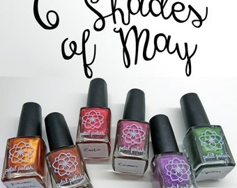 The Complete 6 Shades of May Collection