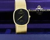 Baume and Mercier  14K Yellow Gold Quartz Wrist Watch