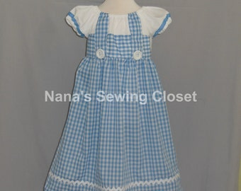Dorothy from Wizard of Oz Inspired Dress