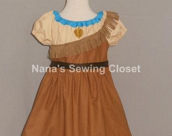 Pocahontas Inspired Dress