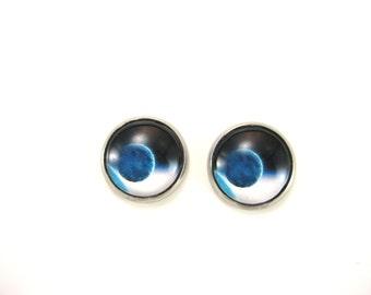 Planet Earring Space Earrings Stainless Steel Earrings   Outer Space Stud Earring Universe  Post  Earring Earth  Earring Planet Jewelry
