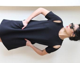 Little Black Drsess / Midi Dress / Short Sleeves Dress / Casual Pocket Dress / Mini Dress / Prom Dress / Evening Dress / Summer Dress - Beth