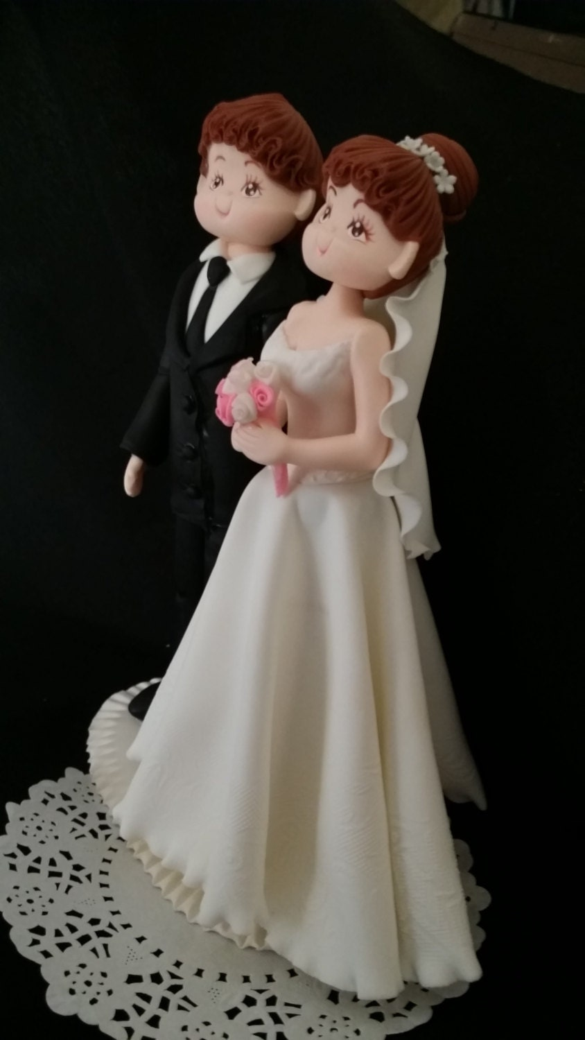 wedding cake toppers etsy wedding cake topper amp groom cake topper 8824