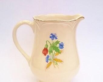 Milk Jug Morley Ware England Vintage jug