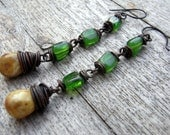 All about the summer - Bohemian, hippie earrings