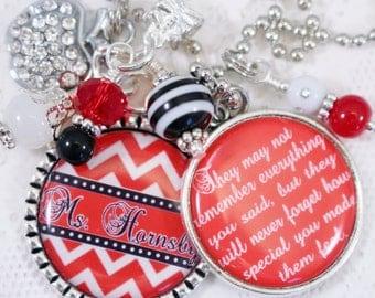 PERSONALIZED TEACHER KEYCHAIN,  Personalized Teacher Key Chain, Personalized Teacher Gift, Teacher Key Chain Personalized, Teacher Key Chain