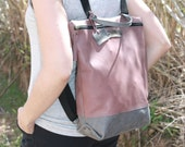 LEATHER BACKPACK, pink backpack, leather backpack large, leather backpack purse, leather backpack women, leather backpack pink, handmade
