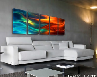 metal wall decorations for living room.  Metal wall art Etsy