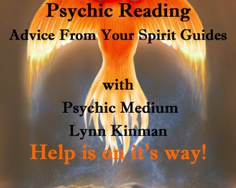 Spirit Guide Reading Psychic Reading Professional Psychic Advice Life Path Guidance  Psychic Medium Reading Fast Relationship Reading