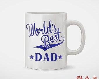 World's Best Dad Fathers Day Coffee Mug