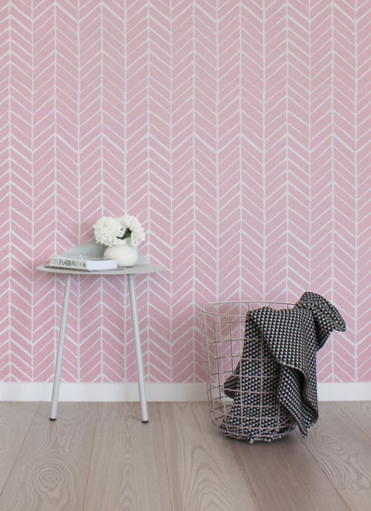 Peel and stick self adhesive vinyl wallpaper wall decal by for Vinyl peel and stick wallpaper