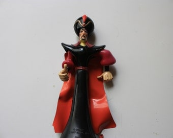 1990's Disney Alladin Movie  Figure of Jaffar the Villain - Disney Toy Jaffar