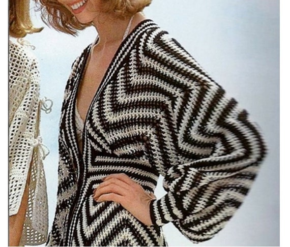 70 S Crochet Fashion