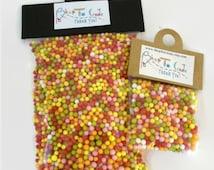 Sprinkles Candy for Miniature Bottles, Colorful Faux Sprinkles Bag, DIY Craft Fake Sprinkles Candy,
