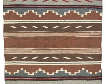 Native American Navajo Crystal Rug/Weaving by Marietta Begay, Ca. 1970s, #851