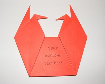 Origami envelope for wedding invitation, Envelope for baby showers, Set of 100 origami envelope, crane envelope for wedding, origami crane