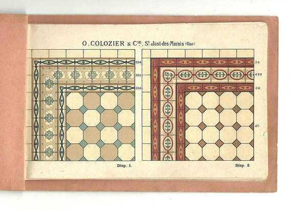 Catalogue motif carrelage ancien 1910 carrelage c ramique - Carrelage motif ancien ...