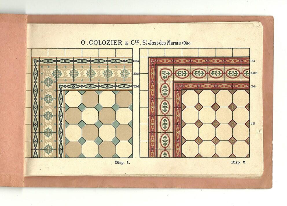 Catalogue motif carrelage ancien 1910 carrelage c ramique - Carrelage motif ancien ...