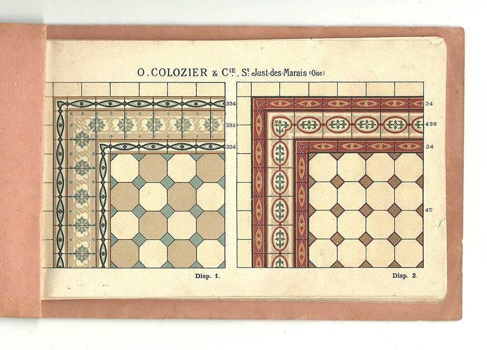 Catalogue motif carrelage ancien 1910 carrelage c ramique for Catalogue carrelage