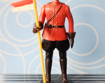 Vintage Plastic Statue for Canada