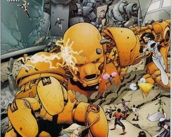DC Comics SUPERGIRL & The Legion of Super-Heroes #26 Mark Waid Barry Kitson Cosmic Boy Element Lad Saturn Girl Light Lass Brainiac 5