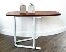 WOODEN side table, coffee table handmade, reclaimed wood