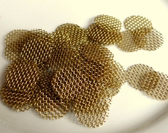 Custom fit brass screens 50 Pack