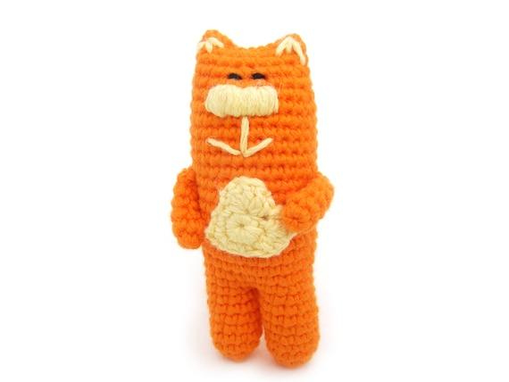 Peelable Orange Amigurumi : Amigurumi orange cat crochet cat crochet by ...