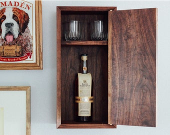 Liquor Cabinet: The Gentleman's Whiskey Cabinet