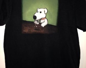 Family Guy Shirt, Brian Shirt, Dog T-shirt